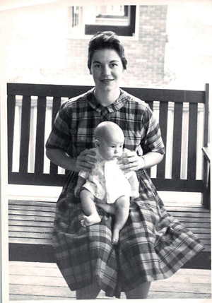 Anne L. Barrows and daughter, Barbara.
