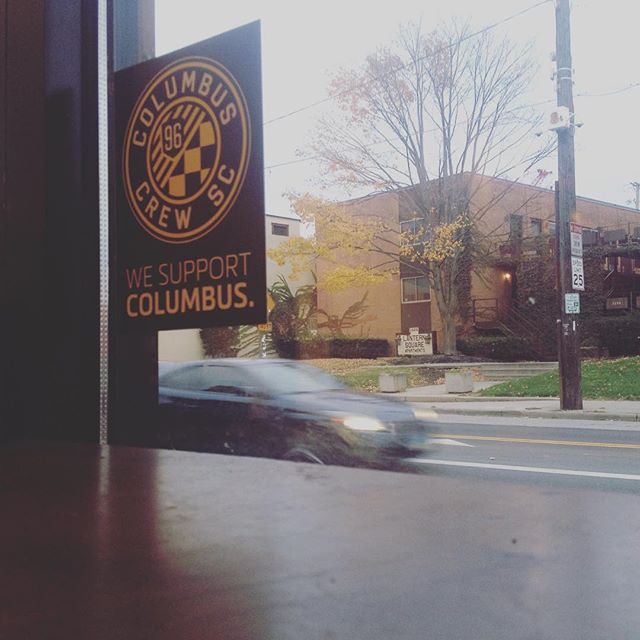 Late lunch view. #Columbus #CrewSC