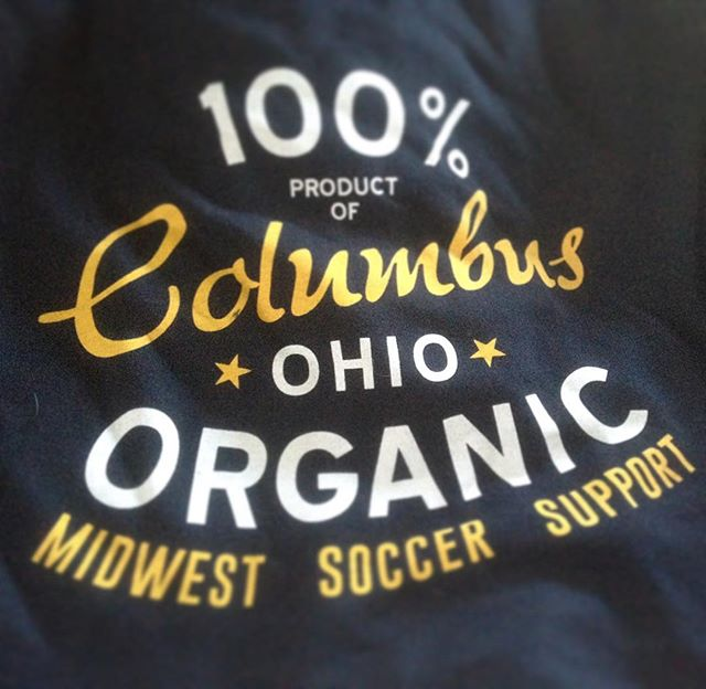 This is what we're celebrating this week. There are those who spend their nights mocking it, but this is the philosophy that got us here. 100% Organic #Columbus. #CrewSC #96NeverQuits #Z #Ohio