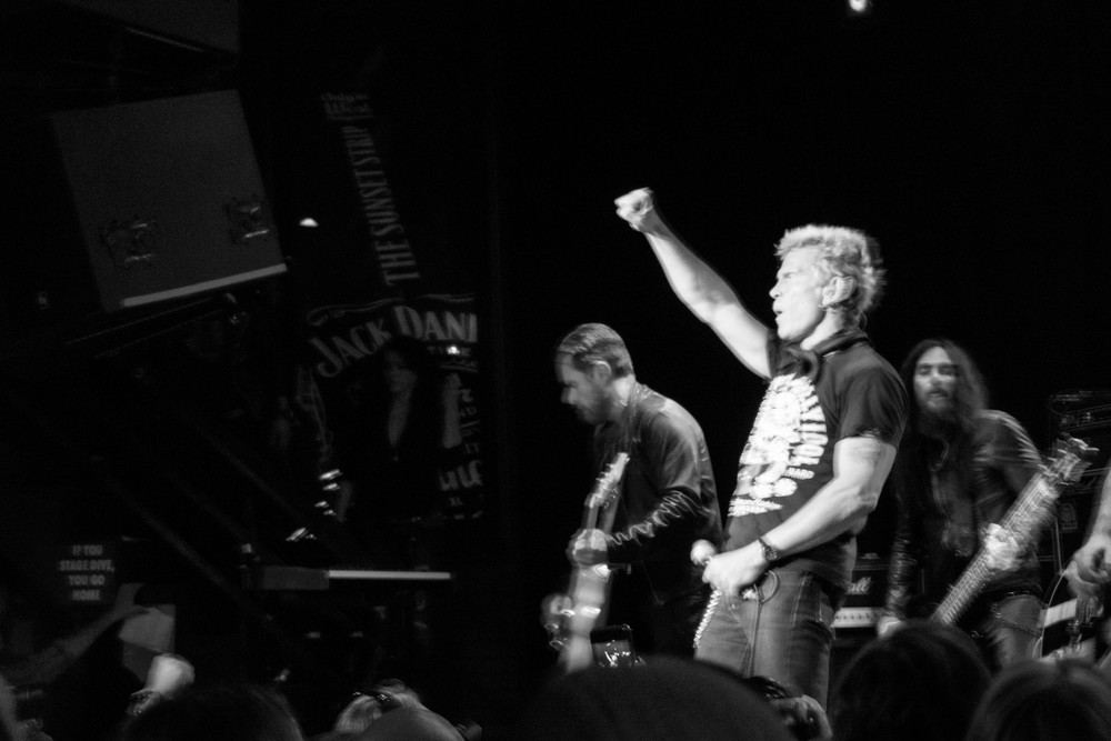 Billy Idol, Wisky A Gogo, Los Angeles 2012