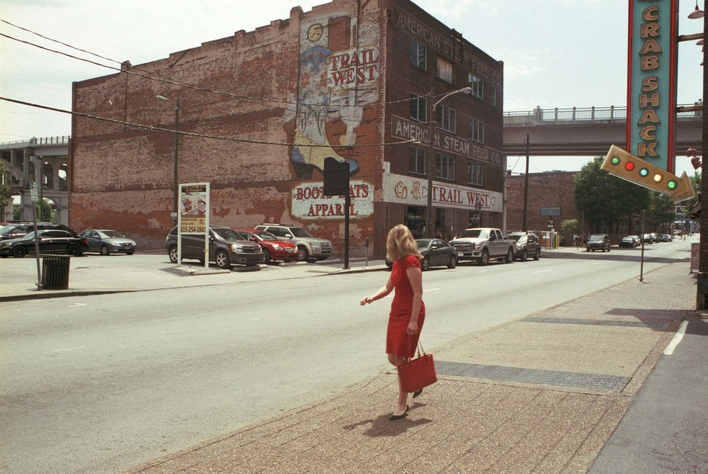 Woman in a Red Dress | Nashville, Tennessee 2015