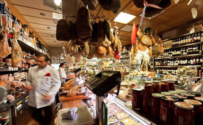 The one-of-a-kind shop features a large variety of top-notch meats, cheeses, balsamics, wines and more.