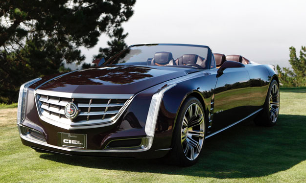"Sadly, something tells me when I schedule my test drive that I won't be able to drive this Cadillac Ciel concept vehicle that was recently used in filming for ""Entourage"" the movie."