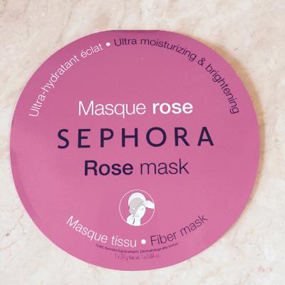 Sephora Rose Mask