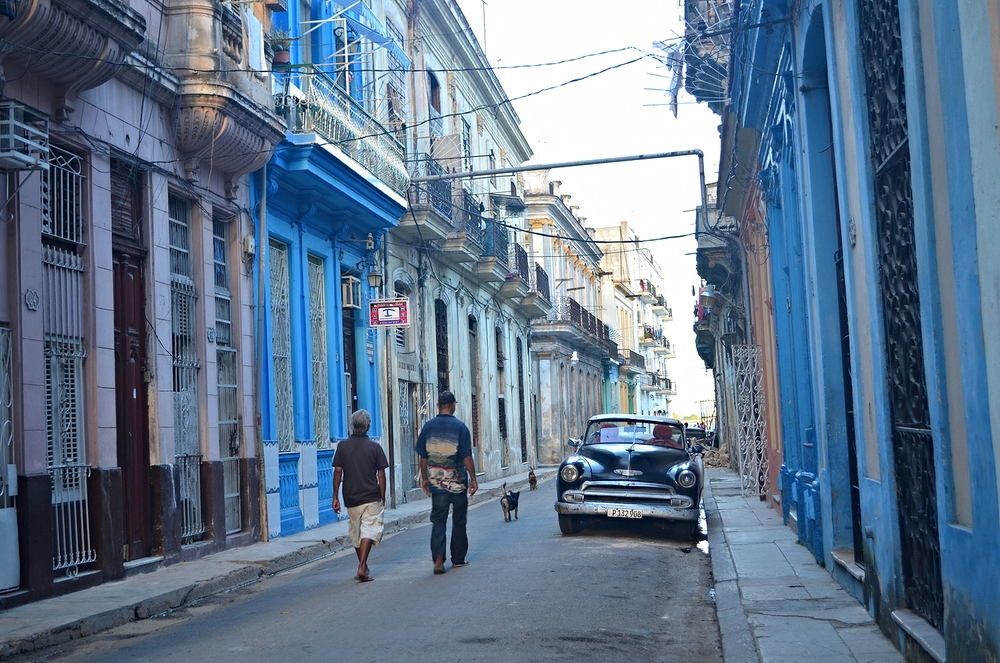 The dilapidated yet stunning streets of Havana