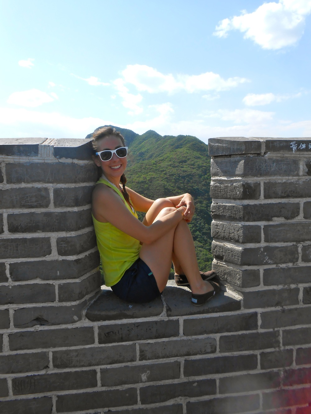 A beach and a margarita, or the Great Wall of China? Easy decision for me!