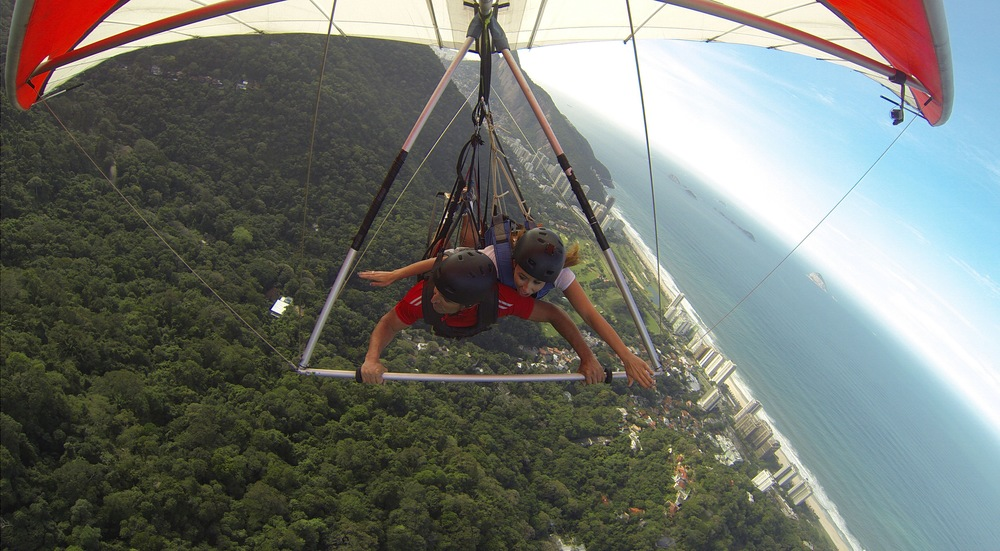 Hang Gliding on my recent trip to Brazil. Flights were only $452 roundtrip and I had no time to wait for anyone to make up their minds as to whether they were coming with me or not