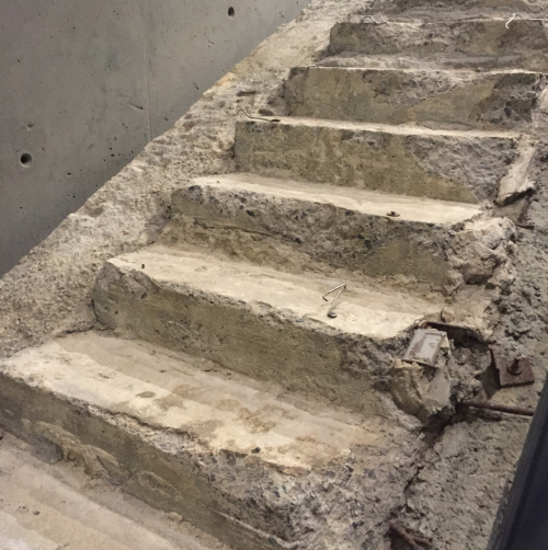 Survivors Staircase 9/11 Memorial Museum