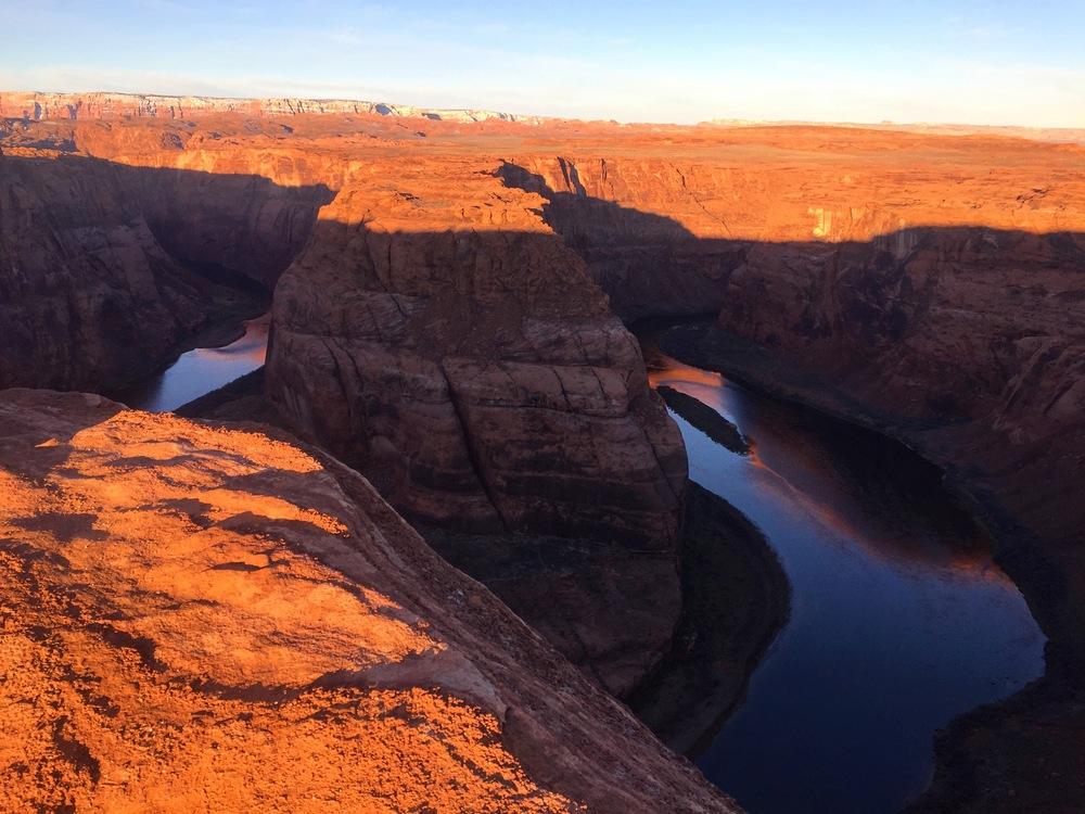 Horseshoe Bend, Grand Canyon was a short drive away