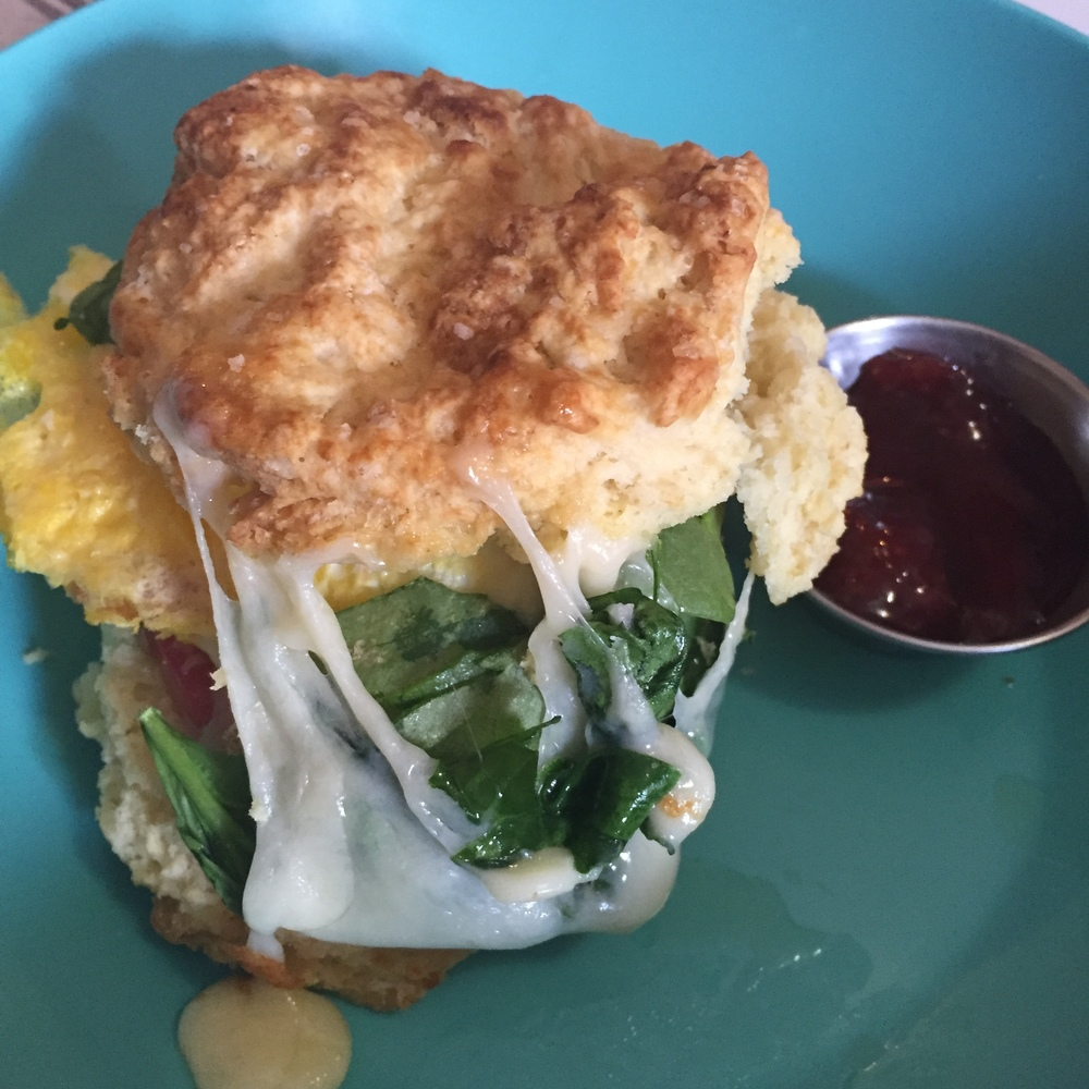 Biscuit Breakfast Sandwich from Amazing Grace