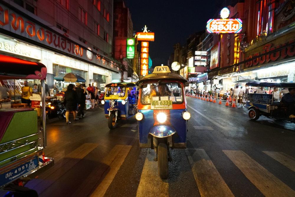 One of the top things to do in Bangkok in 3 days: Driving through Bangkok at night