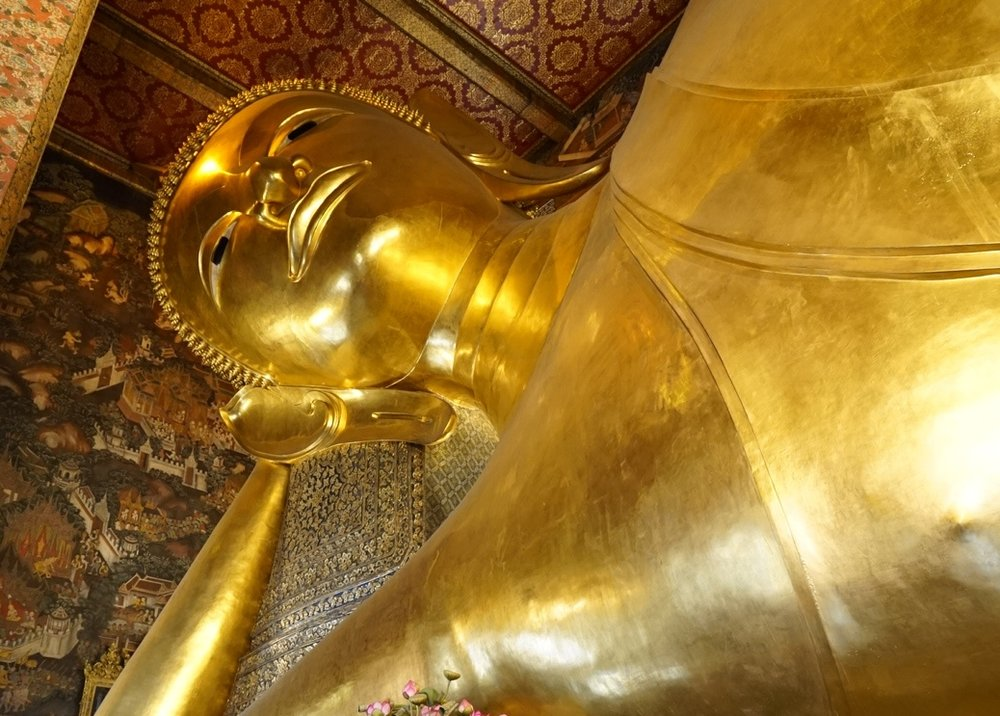 Reclining Buddha at Way Pho