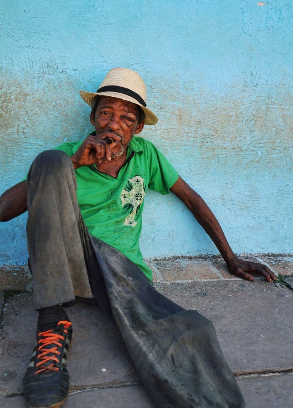 cigar man trinidad cuba
