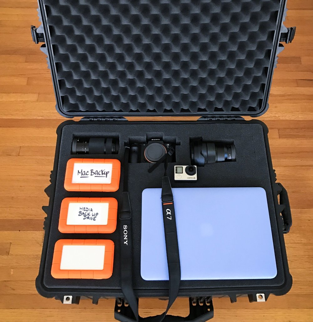 pelican case travel camera