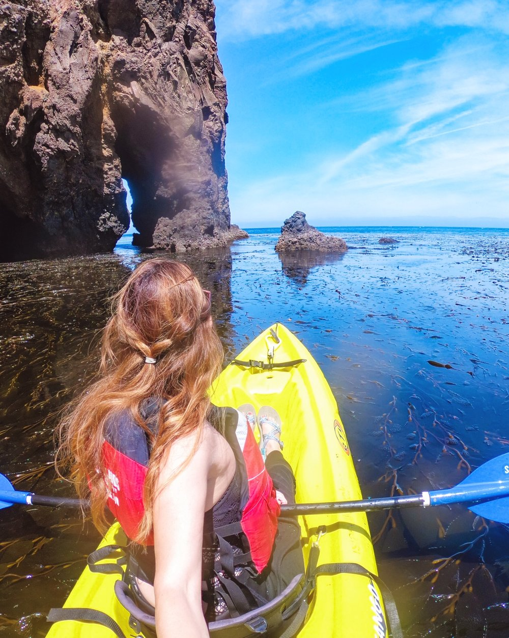 channel islands kayaking tour