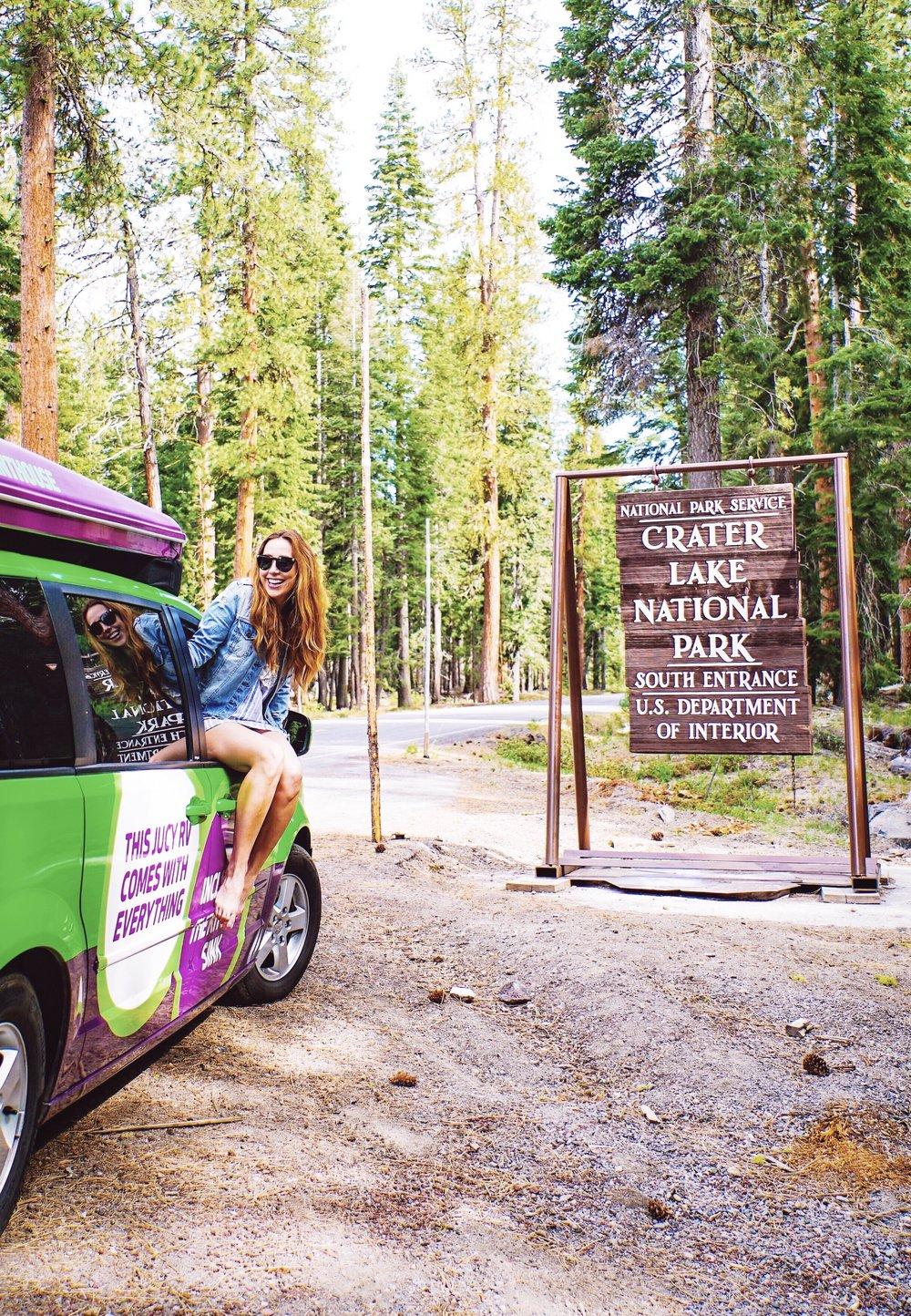 Oregon Road Trip Crater Lake