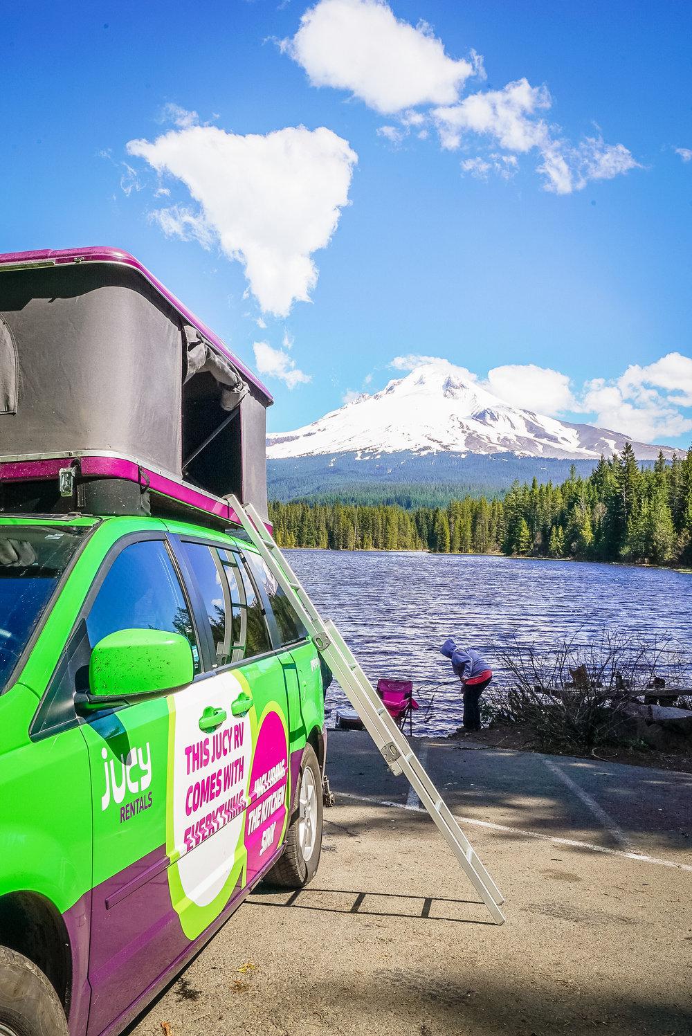 jucy camping van rentals review