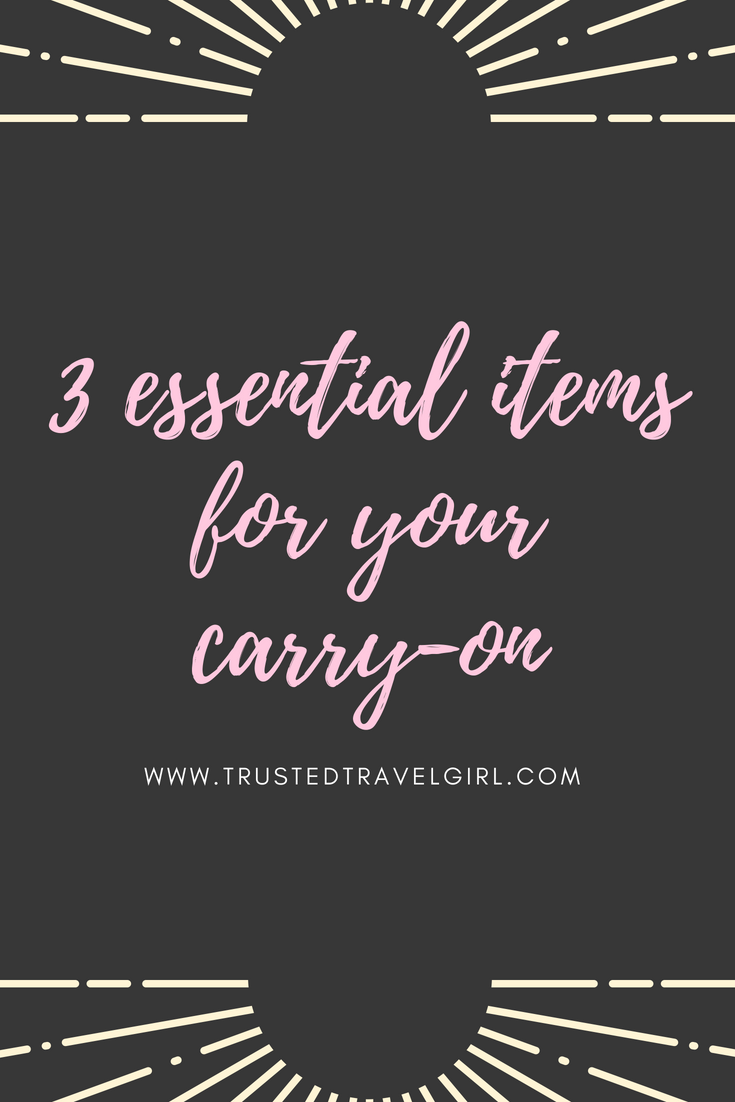 what to pack in carry on