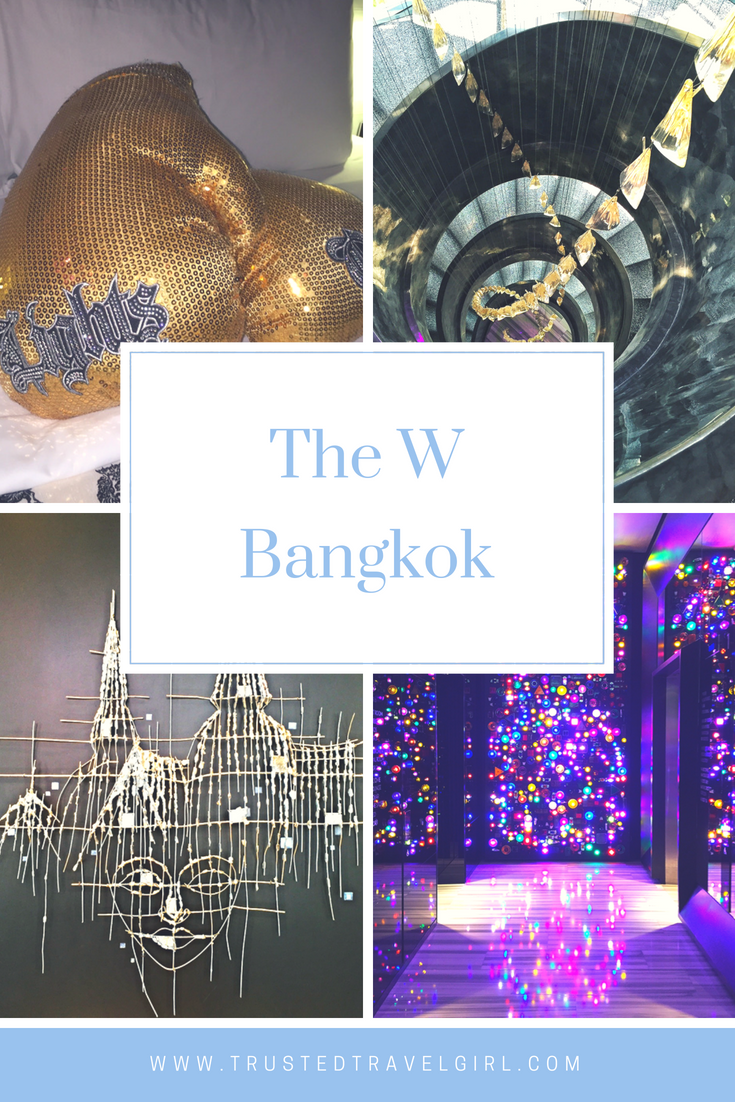 Are you looking for a modern, upscale hotel in Bangkok Thailand? We found it for you. You are going to absolutely ADORE this luxury Bangkok hotel in Thailand with a unique twist. Come check out how much we love this luxurious Bangkok hotel that your Instagram followers are going to absolutely LOVE. Don't forget to save this to your Bangkok board so you can find it later. #bangkok #wbankok #luxurybangkok