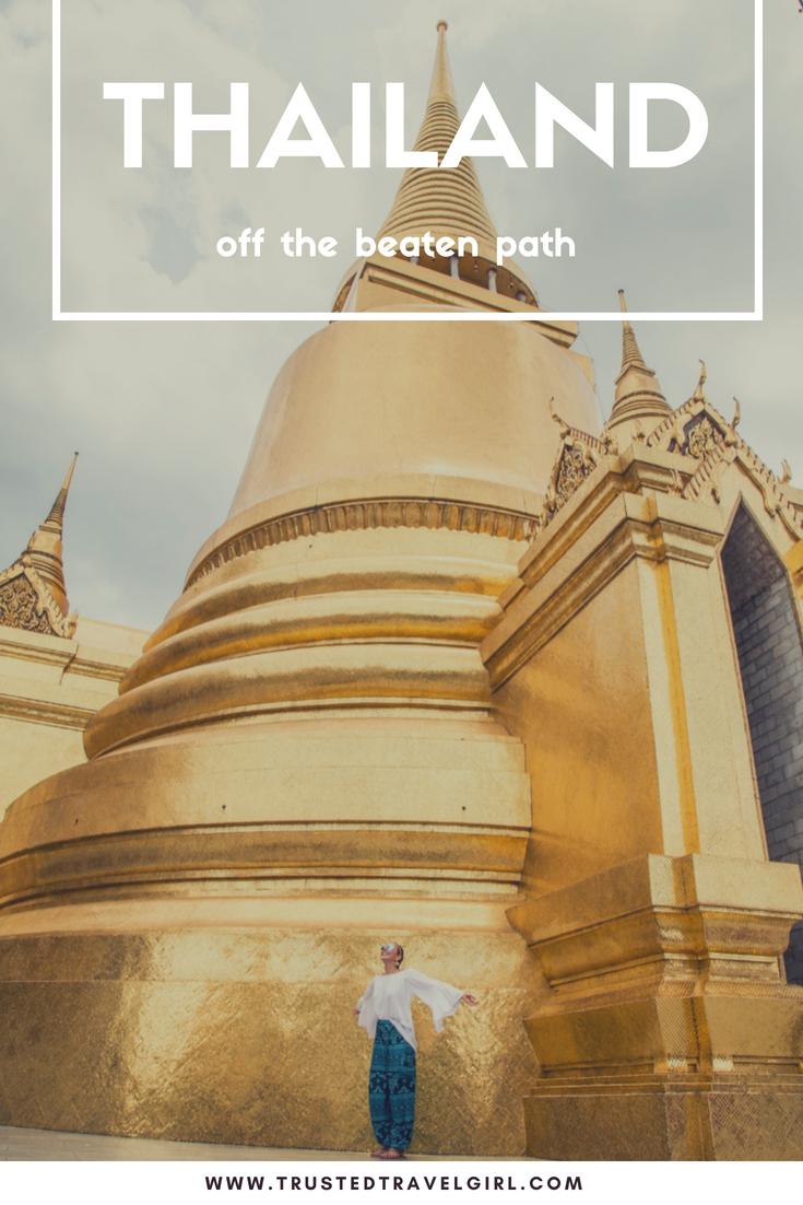 thailand ways to get off beathen path