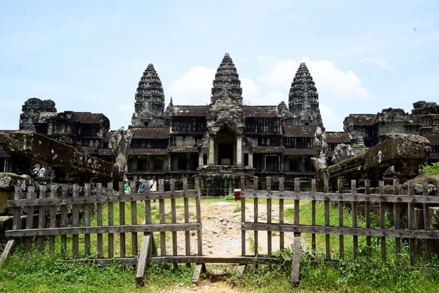 The little-known back entrance to Angkor Wat