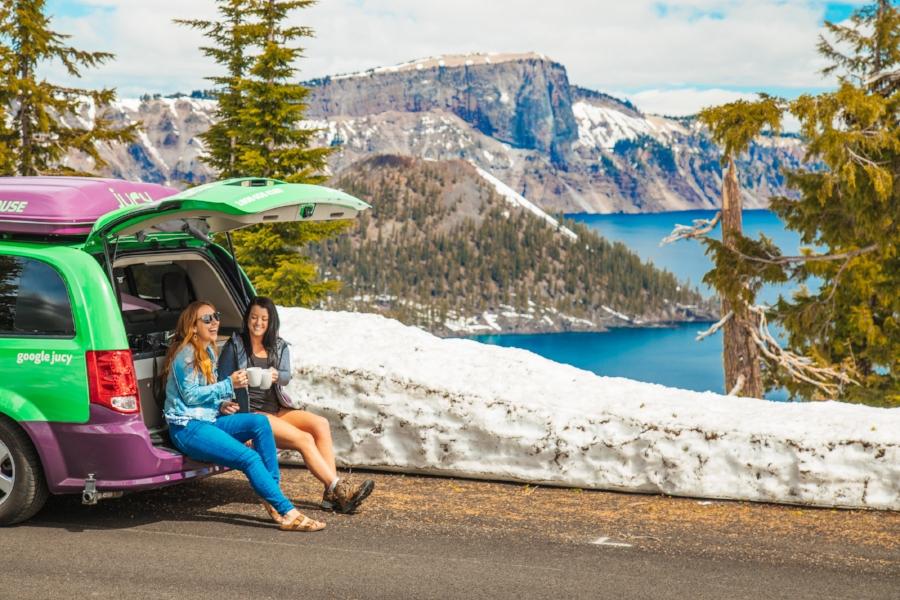 oregon road trip jucy van review