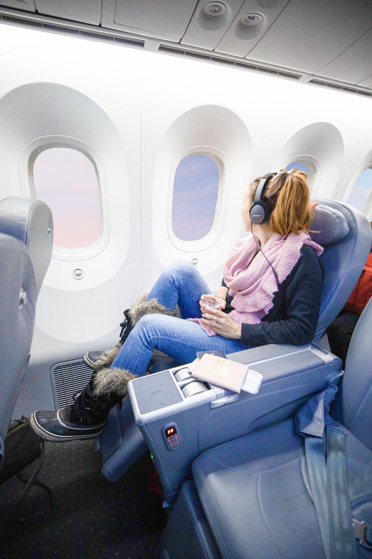 Norwegian Air Premium Economy Cabin Review Business Class