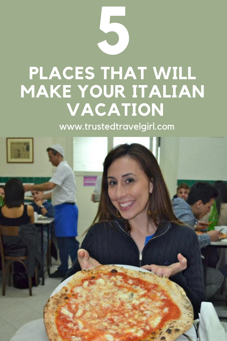 5 spots for italian vacation italy