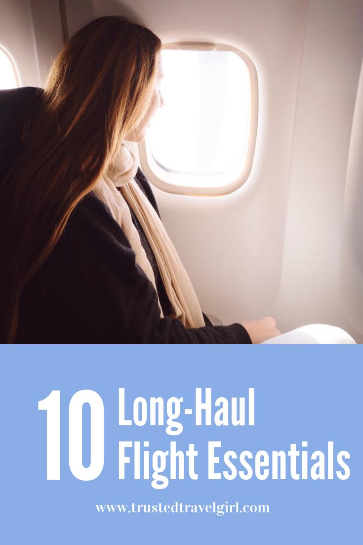 long haul flight essential