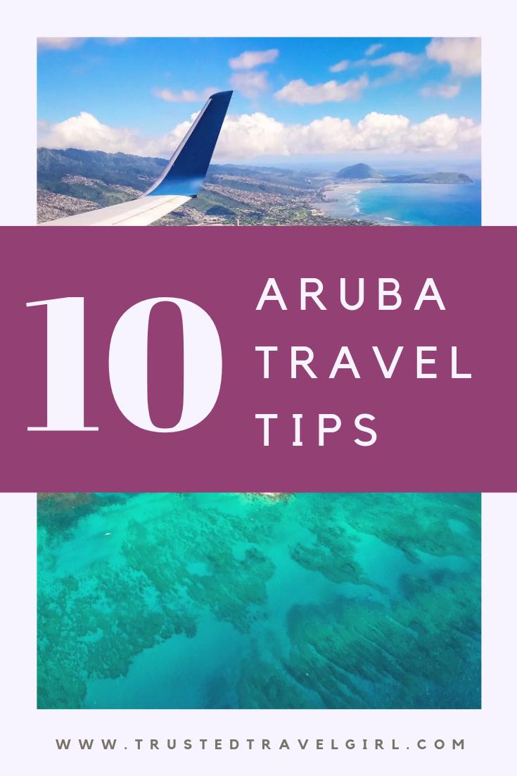 tips for aruba travel
