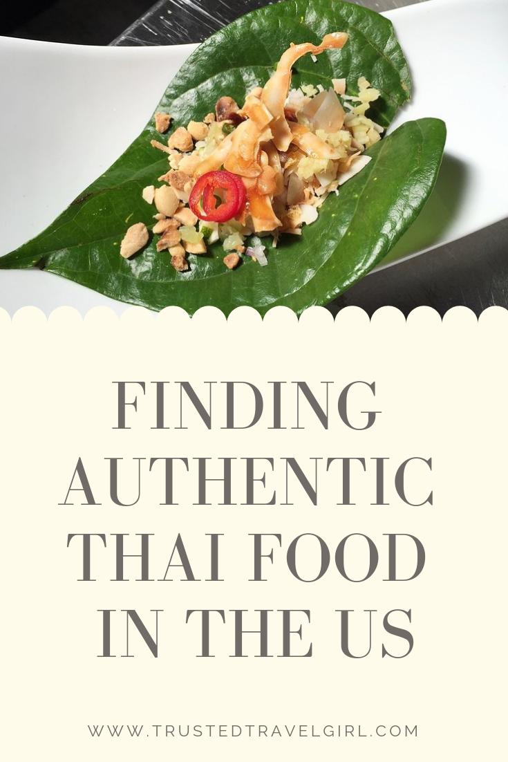 authenthic thai food usa