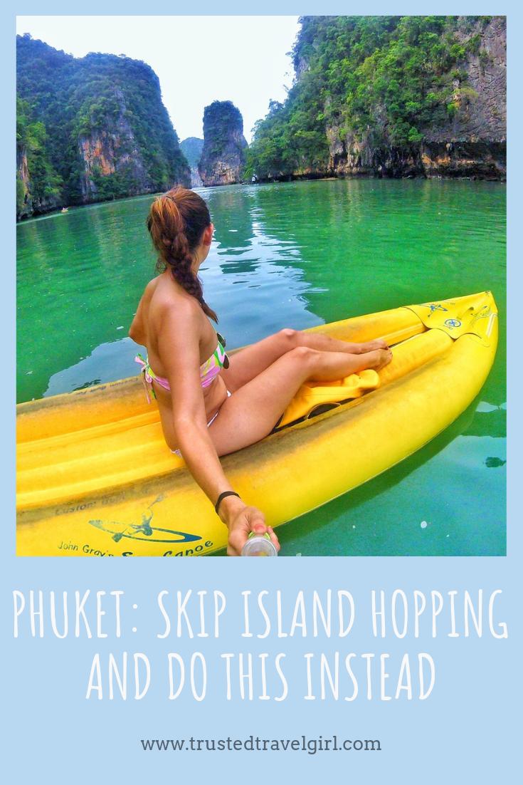 sea canoe tour phuket thailand review