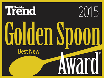 FLORIDA TREND'S BEST NEW RESTAURANT