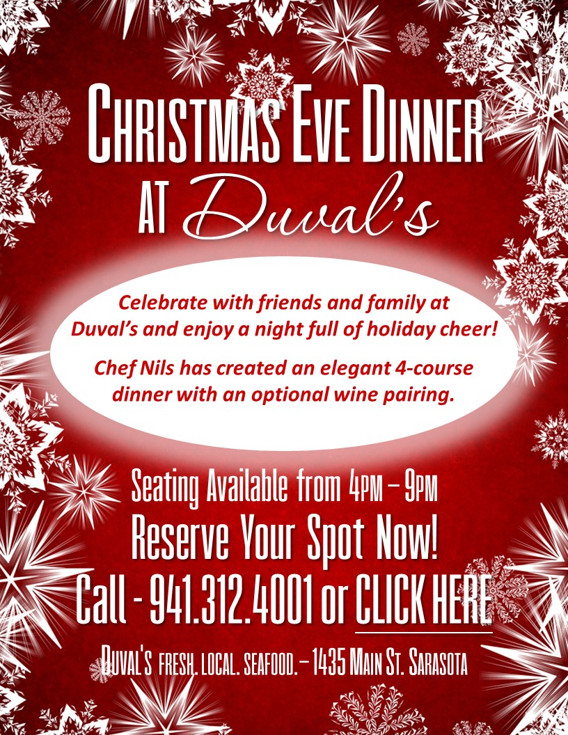 click here to download the duvals christmas eve menu wine pairings