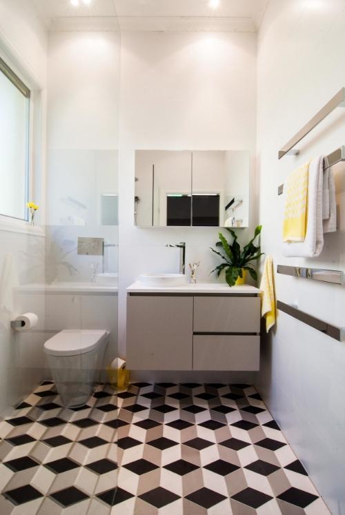 Ensuite bathroom   Patterned Floor Tiles   Interior Design   Petrina Turner Design.jpg