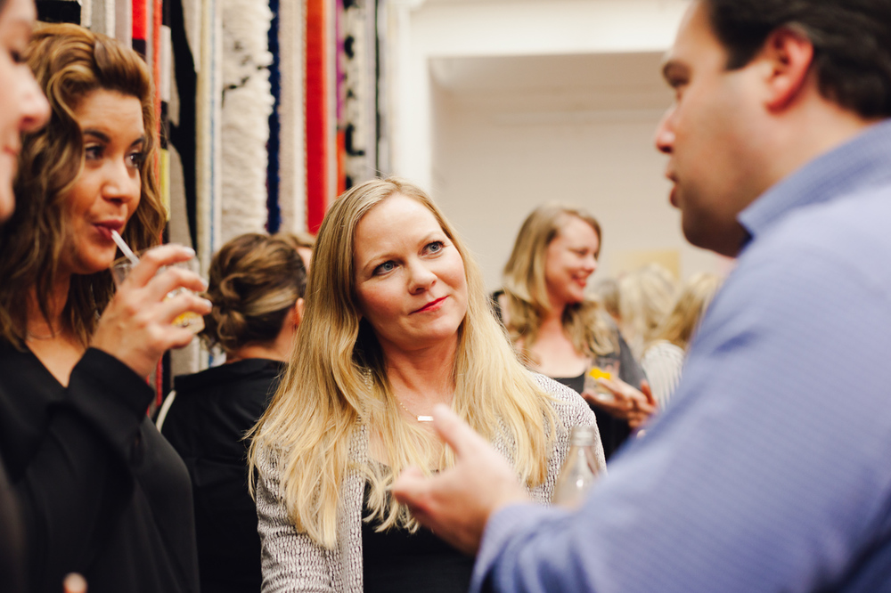 Tennille Joy Burnup & Simon Robinson | NEW AGAIN by Petrina Turner Design for Designer Rugs | The launch event