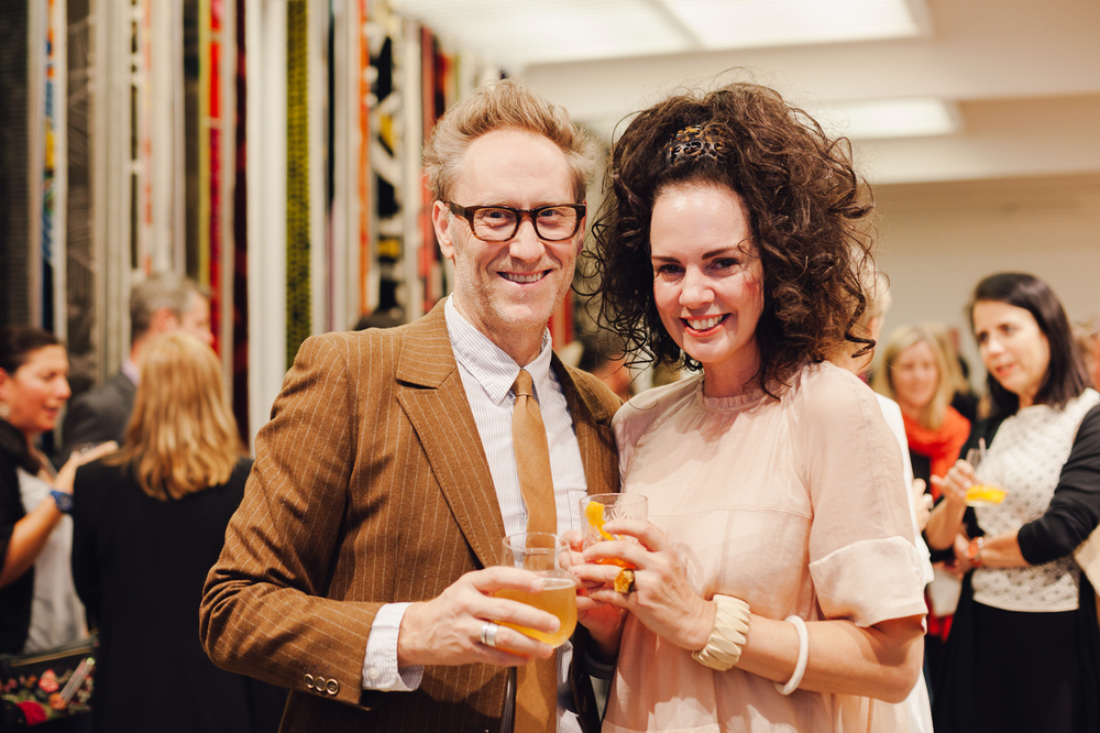 Mark Smith & Lynda Gardener | NEW AGAIN by Petrina Turner Design for Designer Rugs | The launch event