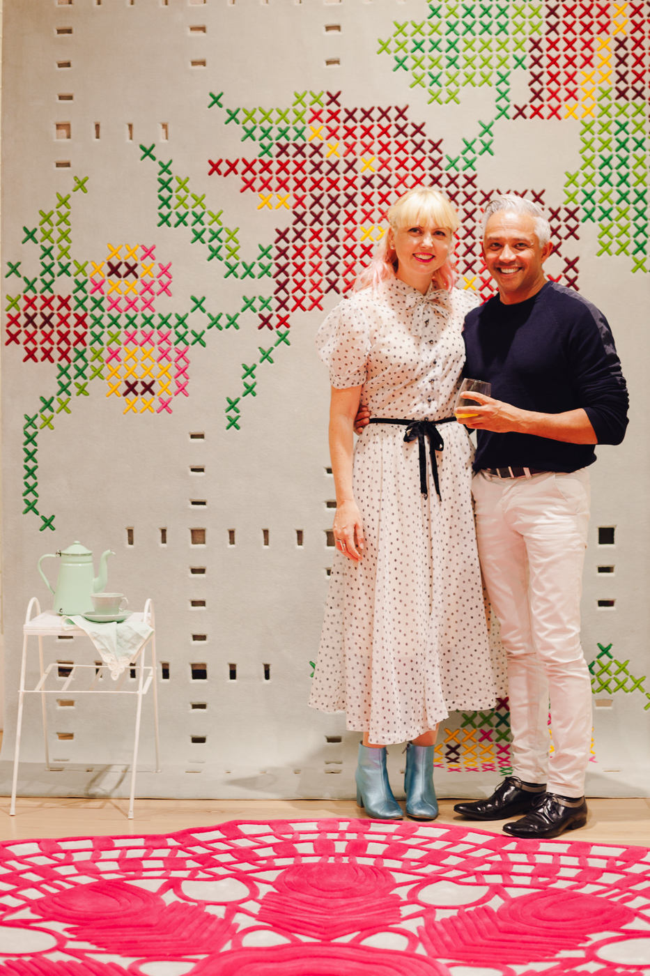 With Richard Misso | NEW AGAIN by Petrina Turner Design for Designer Rugs | The launch event