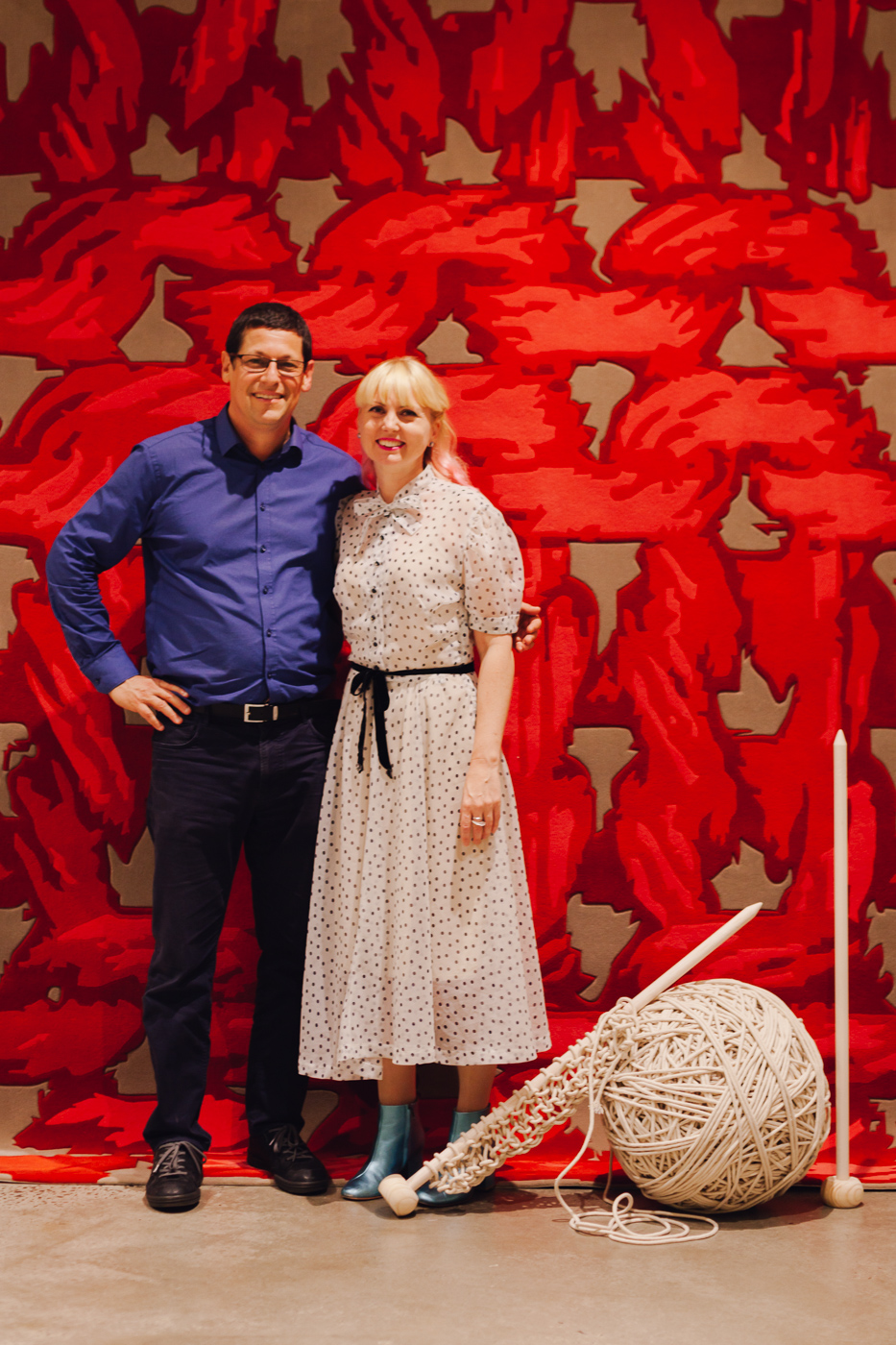 Yosi Tal of Designer Rugs with Petrina Turner | NEW AGAIN by Petrina Turner Design for Designer Rugs | The launch event
