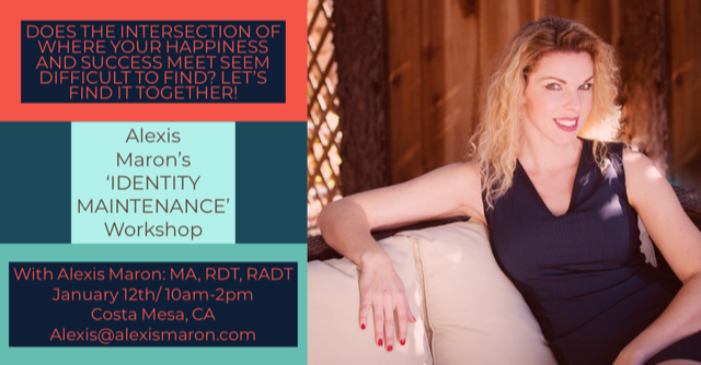 Back after popular demand, please join me for the encore session of this Workshop on January 12th in Costa Mesa! Let's start the New Year headed in the right direction!