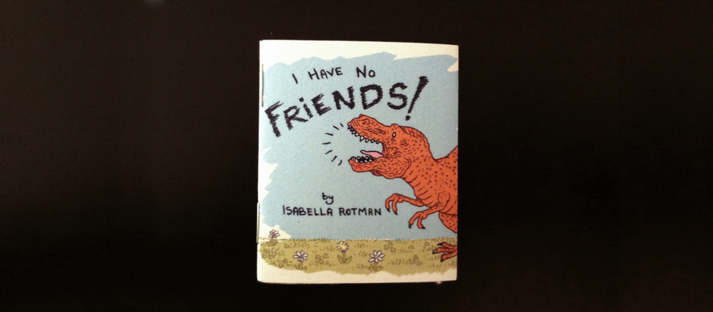 Tiny minicomic $2 available online and in stores