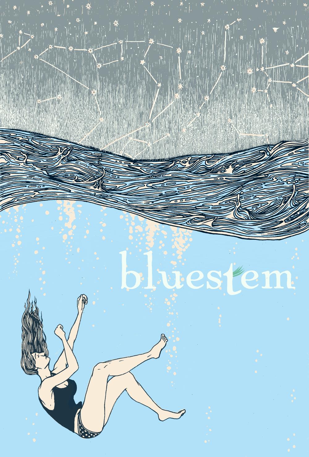 Cover design for Bluestem Magazine 2013 Print Issue