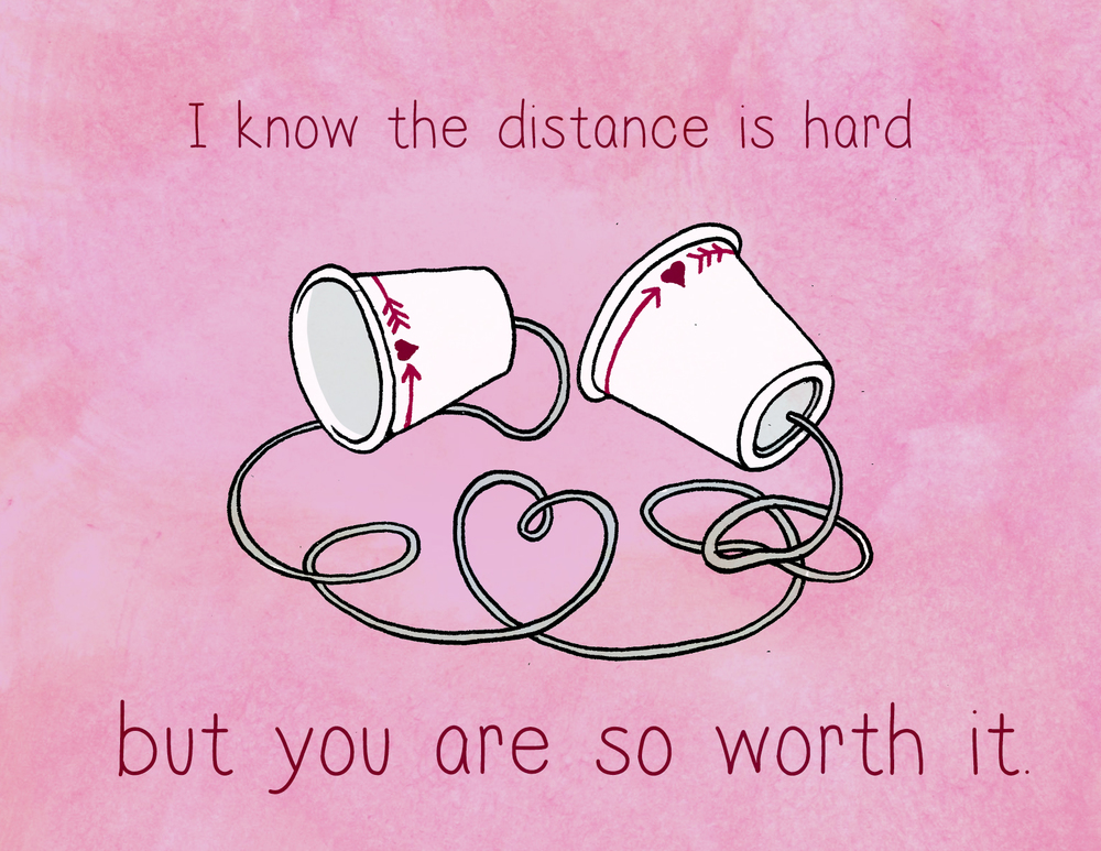Valentines day long distance