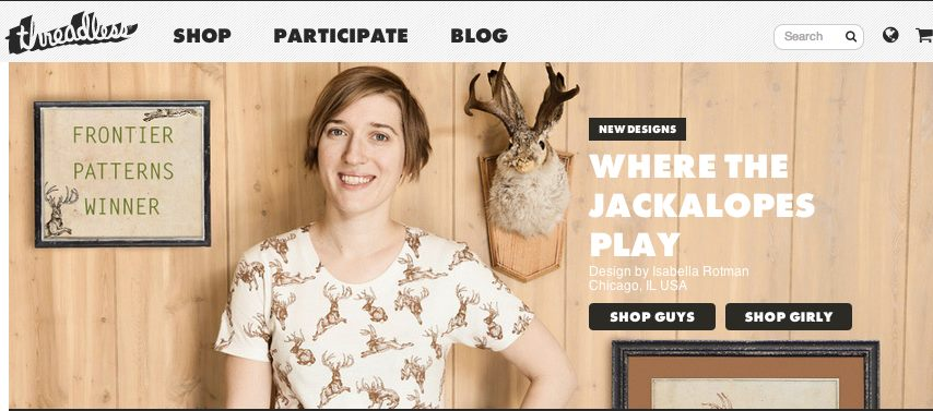Where the Jackalopes Play on Threadless