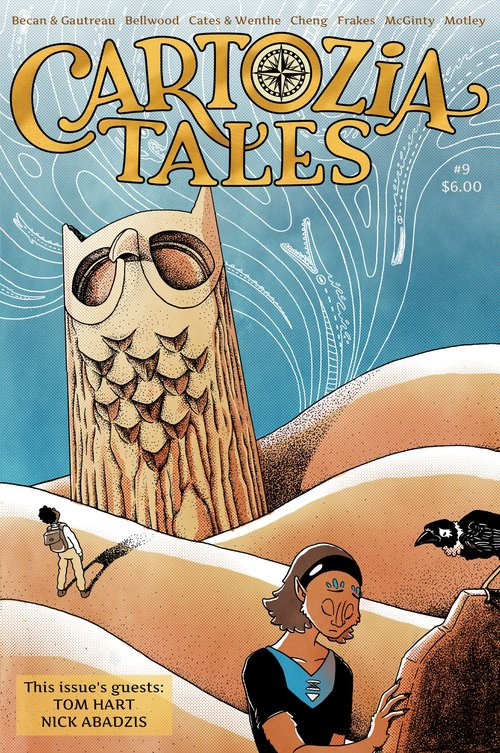 Cartozie Tales Cover Issue #9