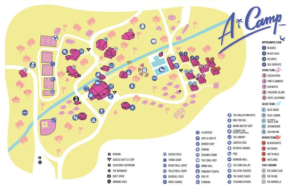 A-Camp X Map