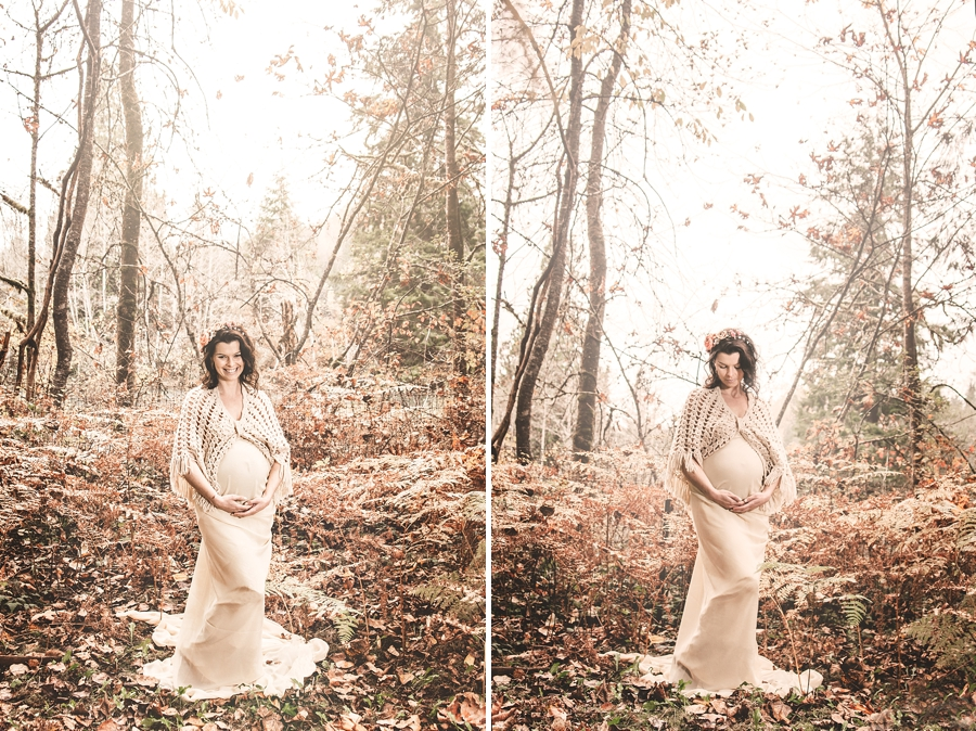 Seattle Fall Maternity Session - via Gaby Cavalcanti Photography