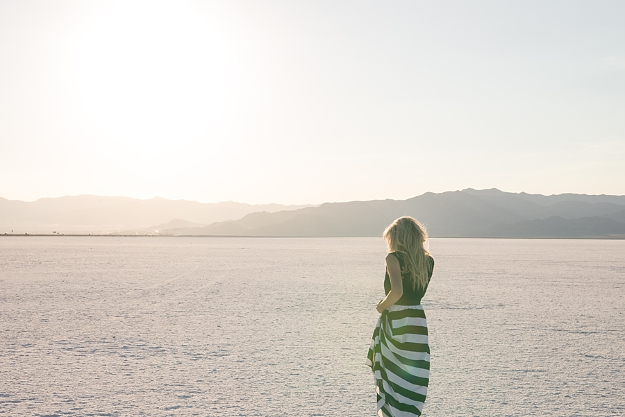 Salt Flats Editorial Sunset Session - via Gaby Cavalcanti Photography