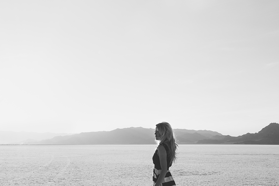Salt Flats Editorial Black And White Session - via Gaby Cavalcanti Photography