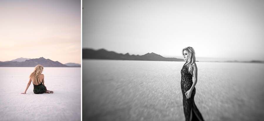 Lensebaby Sunset Editorial Salt Flats Session - via Gaby Cavalcanti Photography